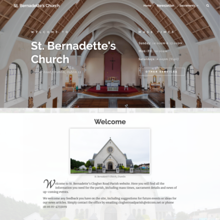Large thumbnail of St Bernadettes Church project